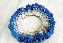 10 схем вязания резинок для волос