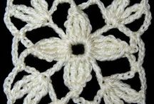 cuadritos tejidos a crochet