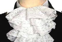 Жабо ,  банты , броши. / Модные детали в одежде
