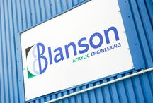 Blanson HQ / Blanson was founded in 1964 in Leicester, England and is now the world leader in pressure rated acrylic windows and products for the medical, pharmaceutical, marine, and optics sectors.