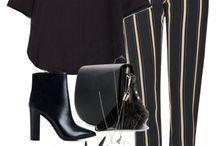 Fekete outfitek