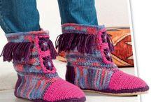 Носочки, Обувь вязаная