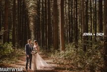 Oak Openings The Stables Wedding Photos by Mary Wyar Photography / Wedding photos at the gorgeous Oak Openings park near The Stables rustic wedding venue with outdoor ceremony space and barn reception