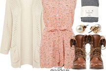 Fashion lookbook / Inspiration for daily fashion