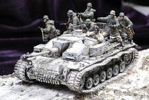 diorami di modellismo militare
