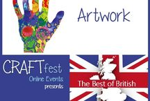 #CRAFTfest - Artwork Category - Sept 2016 / International sellers with stalls in the Artwork category of the September #CRAFTfest Event share with us their creations. http://www.craftfest-events.com/uk-events.html and http://www.craftfest-events.com/pride-of-america-form.html