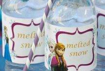 Frozen birthday party / Peggy's 3rd birthday party ideas