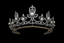 Tiary angielskie - Spencer's diamond and peral tiara
