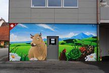Graffitis pour le garage