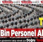 TSK'ya 43 Bin Personel Alınacak
