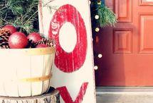 Holidays- Christmas decor outside