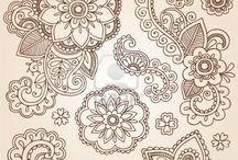mehendi patterns