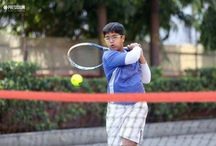 ALL INDIA TENNIS TOURNAMENT-HARDIK BAGS GOLD AND SILVER