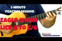 Five Minute Guitar Practice Session / Here's so great ways to learn guitar using short five minute guitar practice sessions.