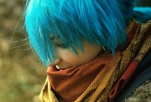 Hair / My hair is blue right now and I love colorful hairstyles. :) So, enjoy :)