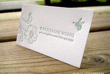 Custom Letterpress Business Cards | Sunlit Letterpress