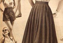 conjuntos años 50