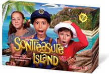 VBS - Son Treasure Island / Set sail for an island adventure in search of the world's greatest treasure that is worth more than the purest gold! Feel the ocean breeze, hear the island music, taste tropical fruits, play island games and create colorful crafts. But at SonTreasure Island, there is much more than meets the eye because children discover God's love is treasure forever! Every day, kids learn of God's love expressed through Jesus, based on 1 Corinthians 13. Ships Ahoy Maties! / by Christianbook.com