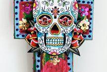 skulls / by Sandra Seward Schulz