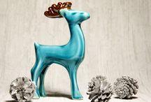 Xmas decorations by Pracownia NieZapomnajka / Christmas ceramic decorations by Pracownia NieZapominajka