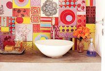 Adesivos Hidraulicos  / Lindos e baratos são os adesivos para sua cozinha e seu banheiro
