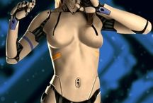 cyborg, androids and robots