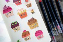 Ilustración cuaderno