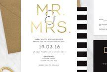 Wedding | Gold & Black