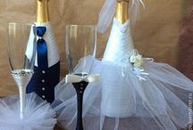 Bouteille mariage