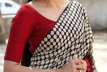 kajal with saree