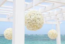 Wedding decorations / Decoraciones de boda