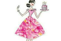 Y ya van dos...más que felices además mami también cumple años!! así es que doble celebración.