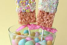 Easter Crafts/Treats / by Christine Baudier