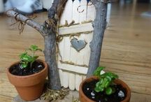 craft - fairy gardens and miniatures / miniatures and fairy garden decoration ideas / by Lori Matheson