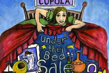 Under the Bed SALE! 2014 / Older and early work that artists send us to sell off cheap! Prices from £1!