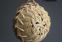 pletené košíky