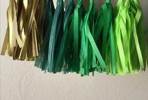 Feestje Groen × Party Green