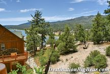 Cabins with Great Views in Big Bear Lake / Fantastic views - whether it be Mountain, Lake, Forest or Ski Slope Views - we have everything at www.DestinationBigBear.com  909-752-0234