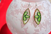 quilled earings