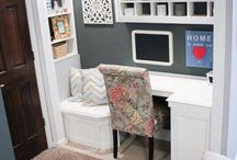 Home-Office / Idea's for and home office. / by Linda Finni