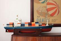 játékhajó