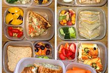 Bento/Lunch Box Ideas / I love Bento Boxes and two of my high school kids love them so much they regularly take them to school - here are some fun ideas. / by Nicole Cook {Daily Dish Recipes}
