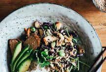 Buddha Bowls + Healthy Choices