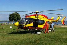 EC 145 Eurocopter de la Protection Civile en France