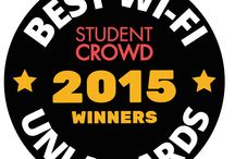 Best WiFi Awards 2015 / Based on 4,986 reviews, we have the Top 3 Universities for WiFi in the UK!