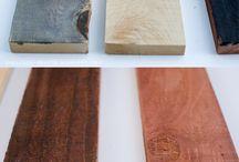 DIY Woodwork / Staining