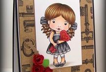 La La Land Crafts cards I {heart}