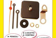 Meccanismi al quarzo per creare orologi da parete / Movimenti al quarzo per creare o riparare orologi da parete. Ottima qualità con lancette ed accessori.  http://www.elettronicadidattica.com/it/5-meccanismo-al-quarzo.html