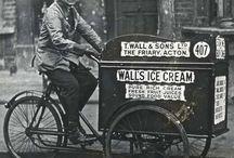 Ice Cream Bicycle Vintage