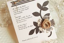 wed invites / by Donna Van Etten
